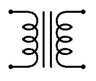 Electrical Symbol For Transformer