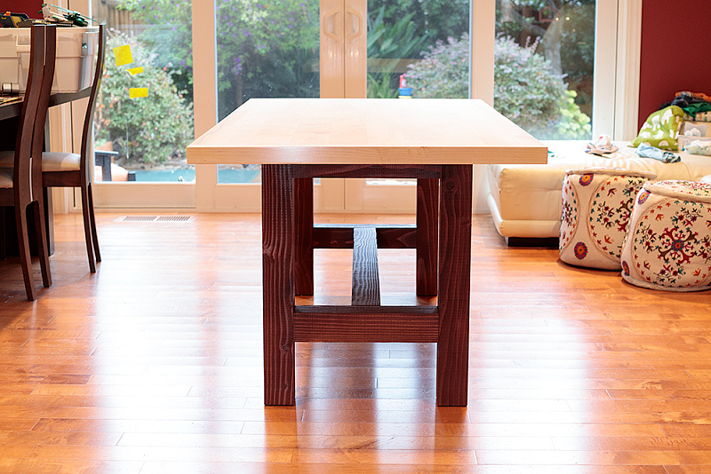 Weekend distractions: a perfectly good dining table